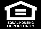 Image result for Equal opportunity Housing logo On Black background