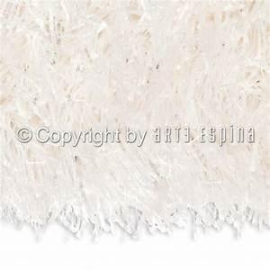 Tapis Shaggy Blanc : tapis moderne shaggy beat blanc arte espina ~ Teatrodelosmanantiales.com Idées de Décoration