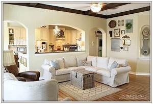 From my front porch to yours farmhouse living room with for Sectional sofa farmhouse