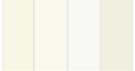 warm white trim paint from left to right 1 creamy