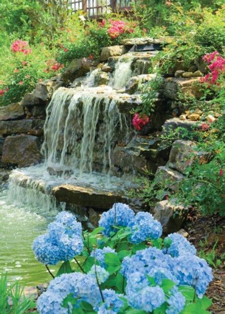back yard waterfalls 75 relaxing garden and backyard waterfalls digsdigs