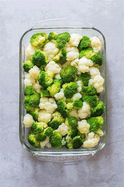Broccoli Healthy Ham Casserole Cauliflower Animated Recipe