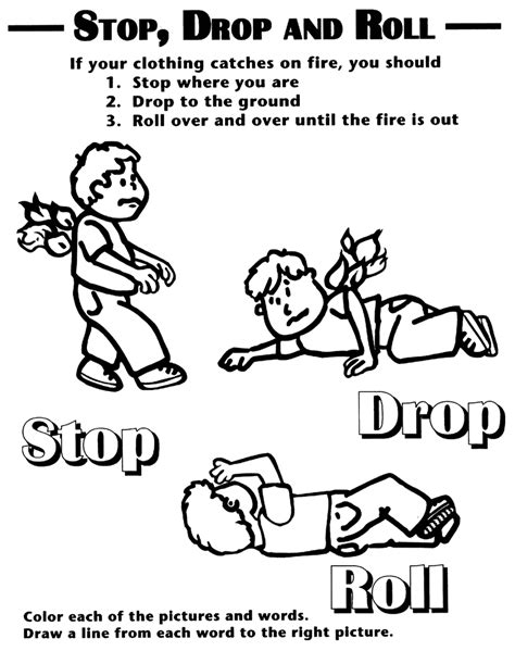coloring pages  girls fire prevention coloring books