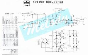 Stk4141 Subwoofer Circuit Diagram