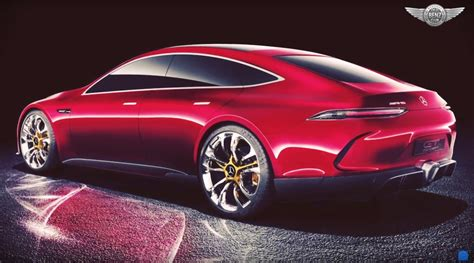 New Mercedes Amg Gt Concept Previews High Performance