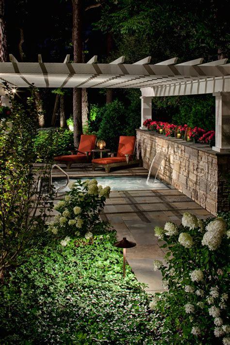 backyard spa designs 65 awesome garden hot tub designs digsdigs