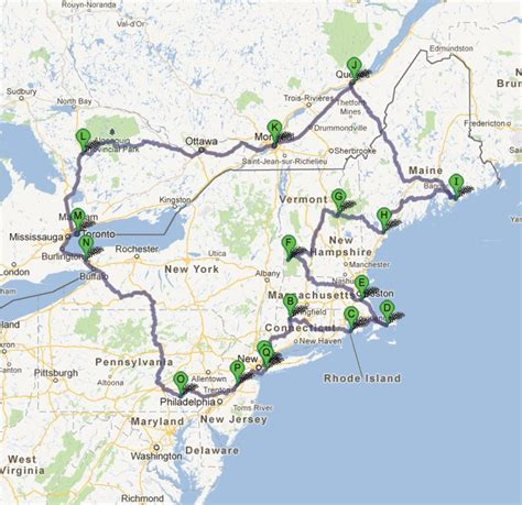 The Most Beautiful Roadtrip Northeast Usa And Canada In