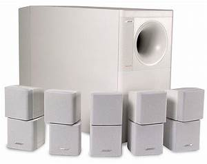 Bose U00ae Acoustimass U00ae 15  White  Top