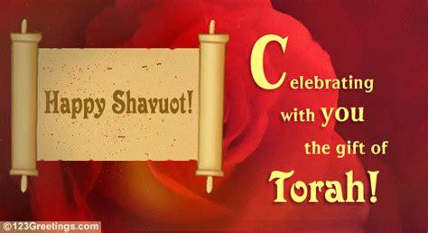 gift  torah  shavuot ecards greeting cards