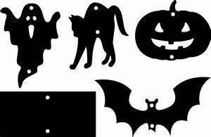 Halloween Kürbis Schablone : halloween mobile basteln ~ Lizthompson.info Haus und Dekorationen