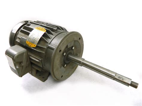 3 Phase Motor by Baldor 5hp Electric Motor 3450 Rpm 184tcz Frame Te 208