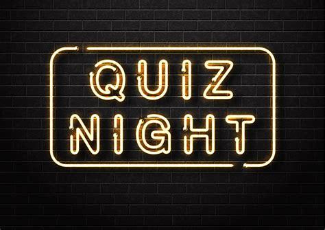 Quiz Night - National Brain Appeal