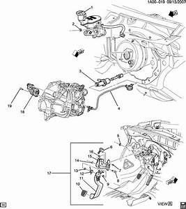 Service Manual  Removing Clutch On A 2008 Chevrolet Cobalt Manual