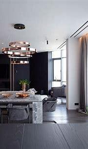 PecherSky apartment on Behance   Modern interior design ...