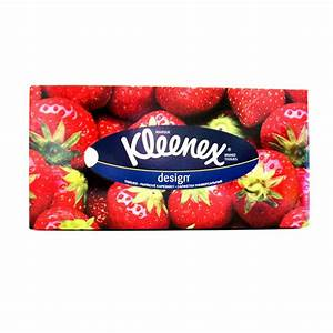 Kleenex Designs Tissues Soft White Box of 70 - Kleenex ...