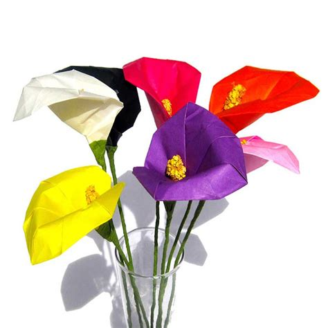 calla colors origami calla various colors available