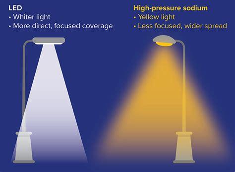 high pressure sodium lights vs led hps sodium lights iron blog
