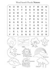 word search puzzle nature explorer extraordinaire