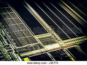 Semiconductor silicon computer wafer containing multiple ...