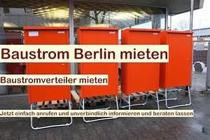 Anhänger Mieten Berlin Reinickendorf : baustromkasten mieten baustrom berlin brandenburg ~ Markanthonyermac.com Haus und Dekorationen