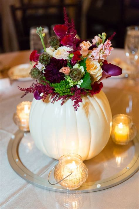 Fall Wedding Ideas With Pumpkins Deer Pearl Flowers