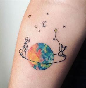 Tatouage Cercle Bras : little prince tattoo principito tatuaje watercolour by ana maturana tatoo pinterest ~ Carolinahurricanesstore.com Idées de Décoration