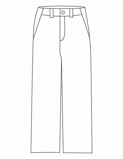 Pants Coloring Pages