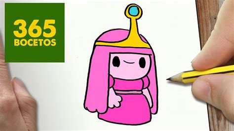 como dibujar dulce princesa kawaii paso a paso dibujos kawaii faciles draw princess