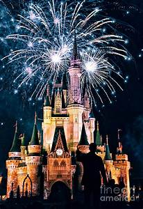Fireworks Over Cinderella39s Castle By Jonathan Virgie