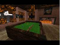 how to make a pool table Minecraft | How To Make A Pool Table - YouTube