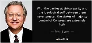 Thomas E. Mann ... Parity Quotes