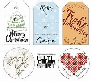 Geschenkanhänger Weihnachten Drucken : 5 gratis geschenkanh nger zum ausdrucken multicolorshirt textildruckerei textilveredelung ~ Eleganceandgraceweddings.com Haus und Dekorationen