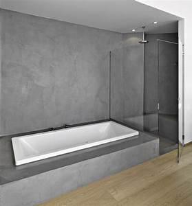 beton cire salle de bain leroy merlin With enduit cire salle de bain