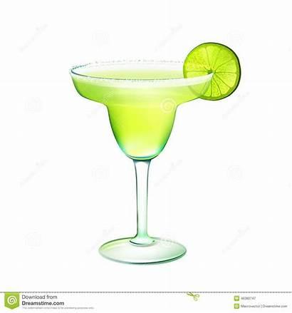 Margarita Clipart Cocktail Vector Illustration Glass Lime