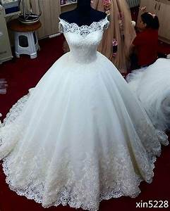 White ivory ball gown wedding dress bridal gown custom for White or ivory wedding dress