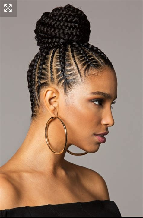 American Braided Hairstyles by 15 Best Ideas Of Braided Bun Updo American Hairstyles