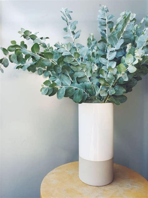 vases flowers fresh flower arrangement arrangements vase eucalyptus types need having floral greenery round cupcakesandcashmere centrepiece centerpieces