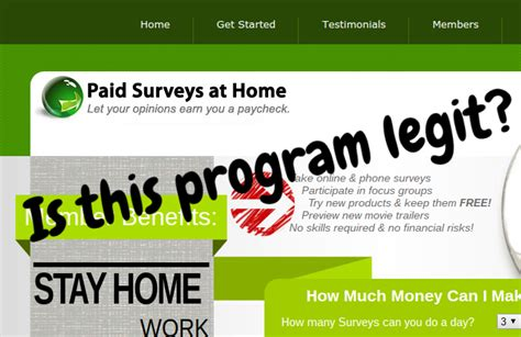 How they can paid surveys online legit get free