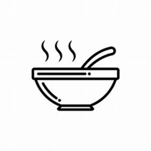 Icon Icons Bowl Bowls Spoon Spoons Soup Soups Restaurant ...