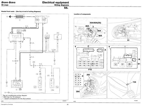 Fiat Punto Electrical Wiring Diagram by Fiat Punto Wiring Diagram Mk2 Wiring Diagram