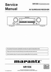 Marantz Reciever Wiring Diagrams   32 Wiring Diagram