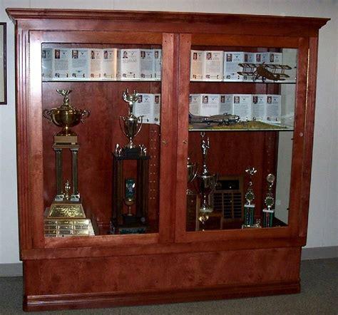Handmade Trophy Display Case By Cc Fine Furniture