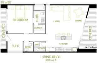Minimalist House Plans by The Minimalist Small Modern House Plan 61custom