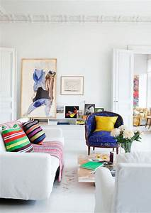 Decorating Ideas: 12 White Rooms with Pops of Color ...