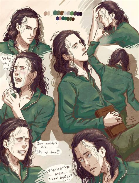 421 Best Loki Fan Art Images On Pinterest Fan Art