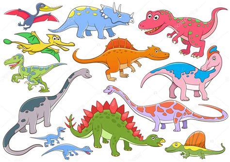 Ilustração Dos Desenhos Animados De Dinossauros Bonito