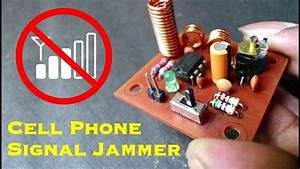 How To Make Cell Phone Signal Jammer