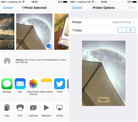 how to print photos from iphone how to print from iphone or tech advisor