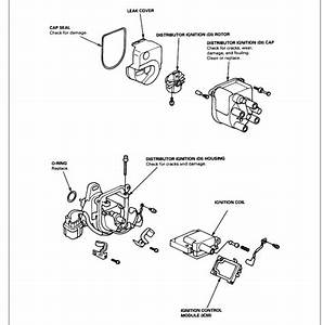 Howtorepairguide Com  Coil Pack Removal On 2001 Honda Crv