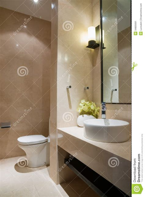 nice bathroom stock image image  floor ceramics